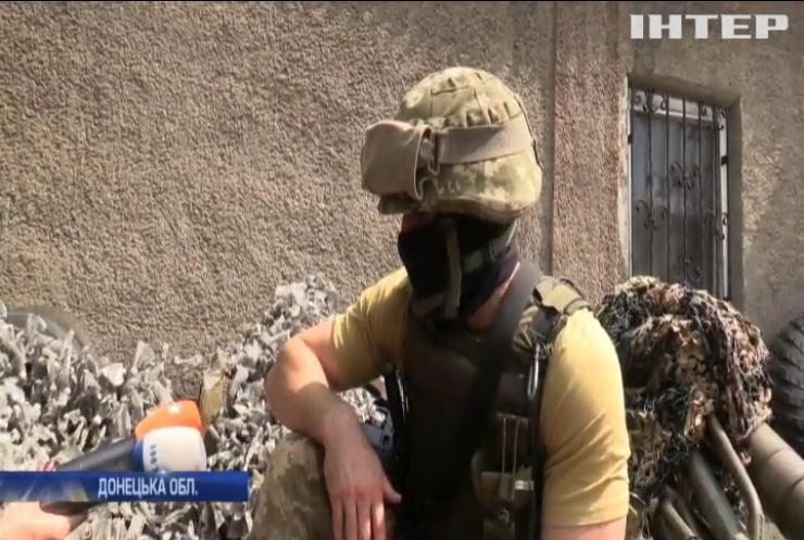 Бойовики продовжують обстріли поблизу Мар'їнки
