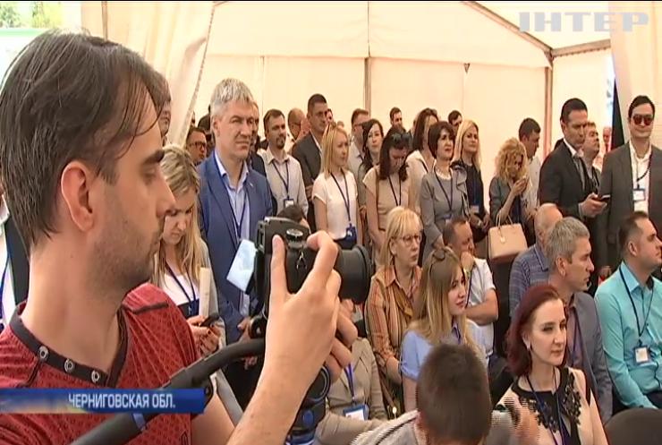 В Черниговской области запустили предприятие по изготовлению эко-продукции