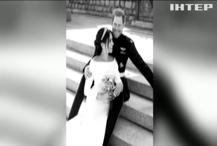 Королівська родина оприлюднила фото з весілля принца Гаррі та Меган Маркл