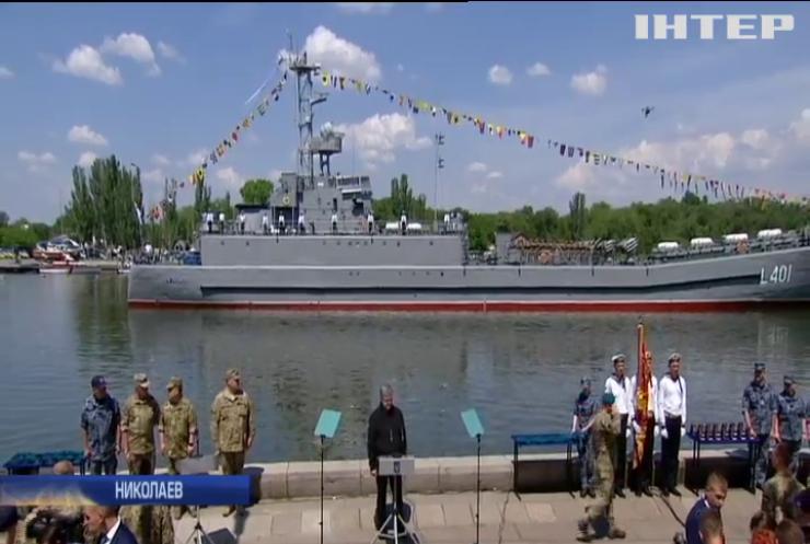 Юбилей морской пехоты: Порошенко поздравил военных в Николаеве