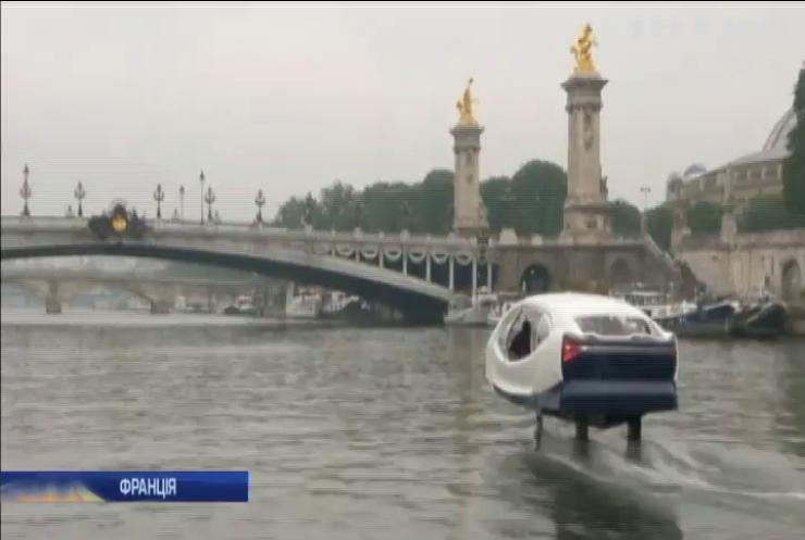 Французький винахідник створив водне таксі