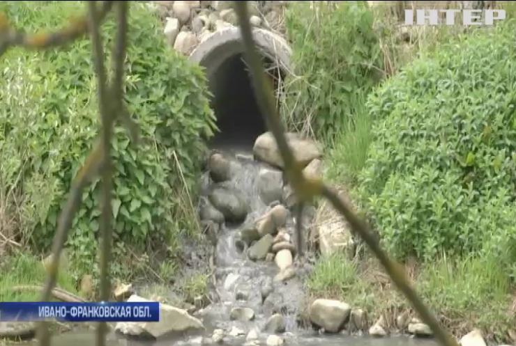 Кто превращает карпатские горные реки в канализацию?
