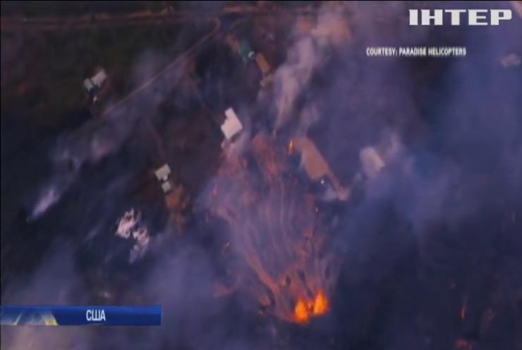 На Гаваях впродовж місяця триває виверження вулкана