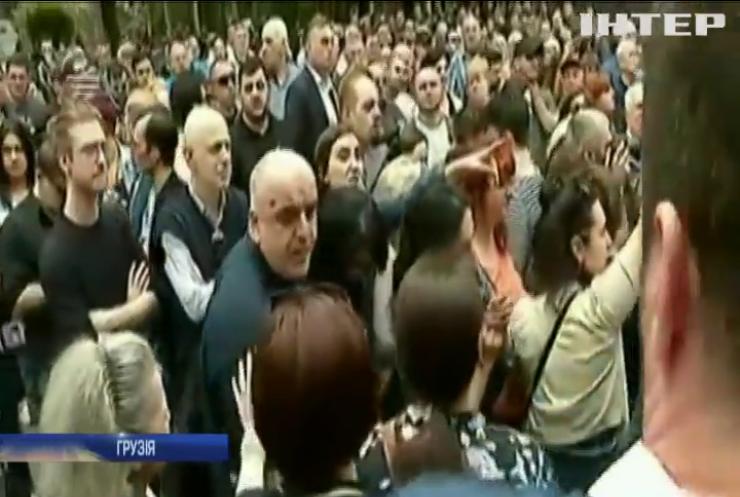 Протести у Грузії: жителі Тбілісі вимагають відставки влади
