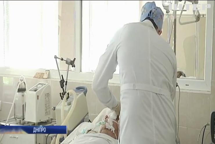 У лікарні Дніпра помер поранений на Донбасі військовий