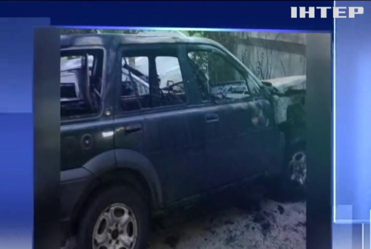 У Рівному спалили автівку місцевого активіста