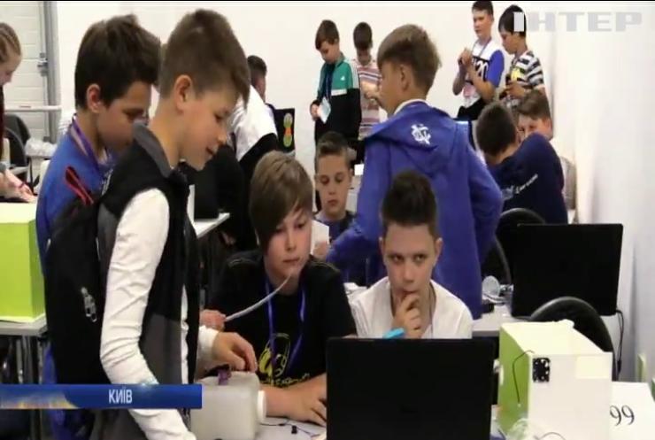 У Києві юні програмісти вразили фахівців робототехніки
