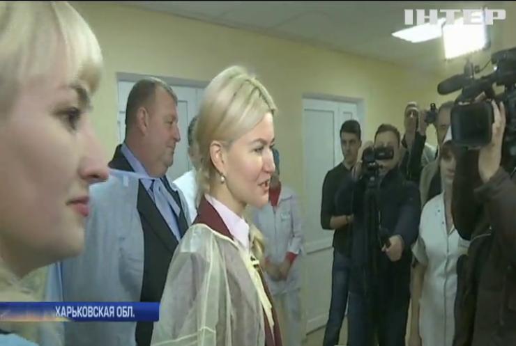 Глава Харьковской обладминистрации выделила средства на ремонт Изюмской ЦГБ