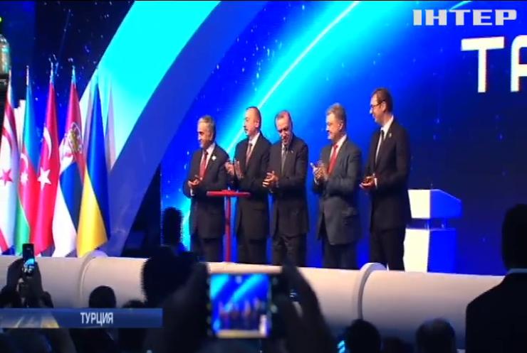 Порошенко посетил Турцию: Украине предложили присоединиться к газовому проекту