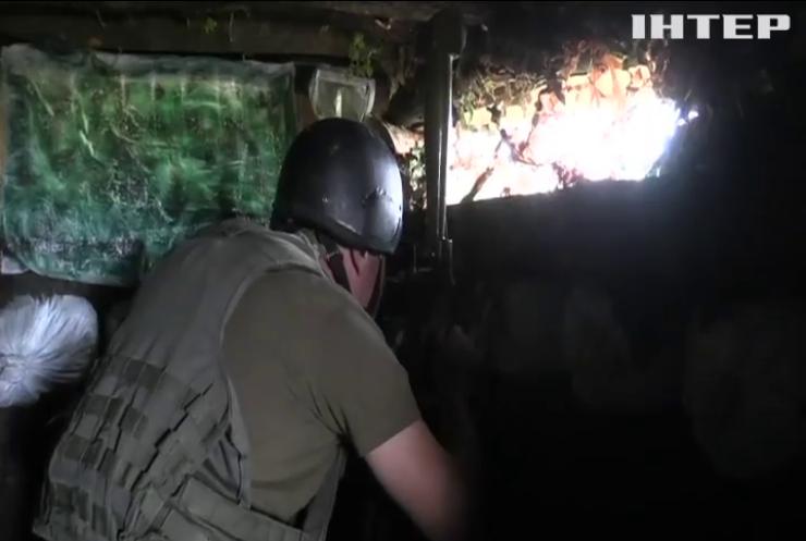 На Донбасі військові підбили ворожу БМП