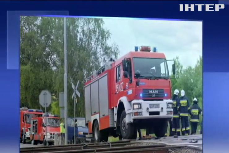 Аварія на залізниці в Польщі- десятки постраждалих (відео)