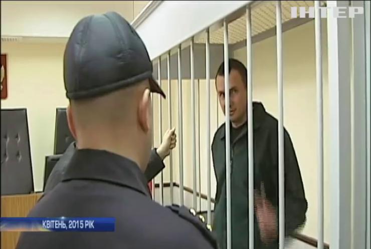 Олега Сенцова повернули в колонію