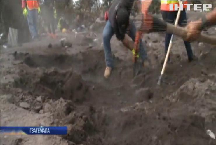 У Гватемалі зупинили пошук загиблих після виверження вулкану