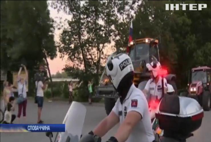 У Братиславі фермери виступили проти чиновників