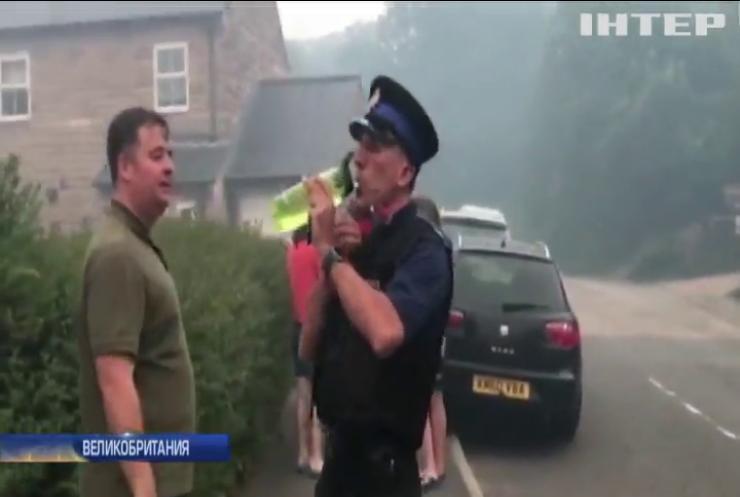 Пожар в Великобритании: под Манчестером начали эвакуировать людей