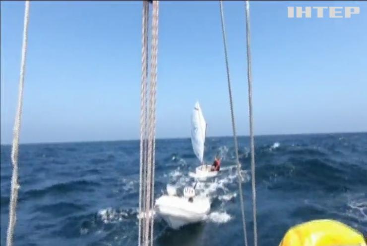 Підліток перетнув Північне море за 14 годин