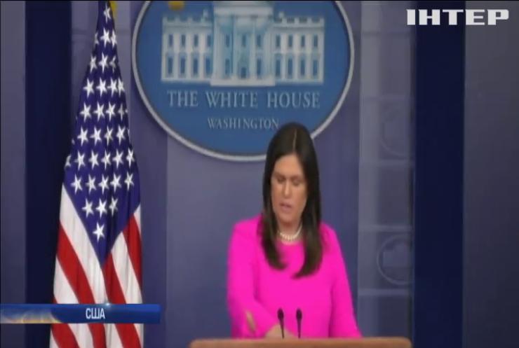 США не визнають анексію Криму Росією – Сара Сандерс