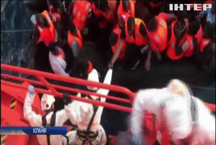 Іспанська берегова охорона продовжує проводити порятунки мігрантів