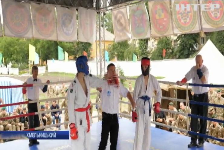 Всеукраїнський турнір з універсального бою стартував у Хмельницькому