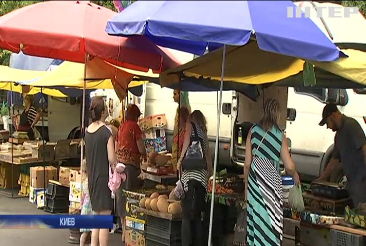 В Киеве запретили продажу скоропортящихся продуктов