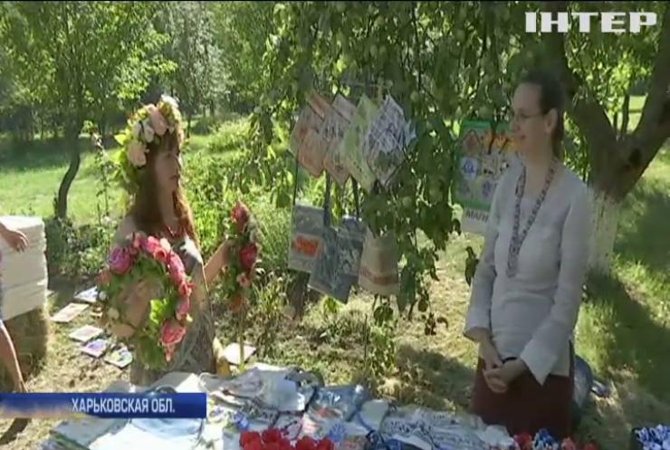 В Харькове праздник Ивана Купала отметили массовыми гуляниями