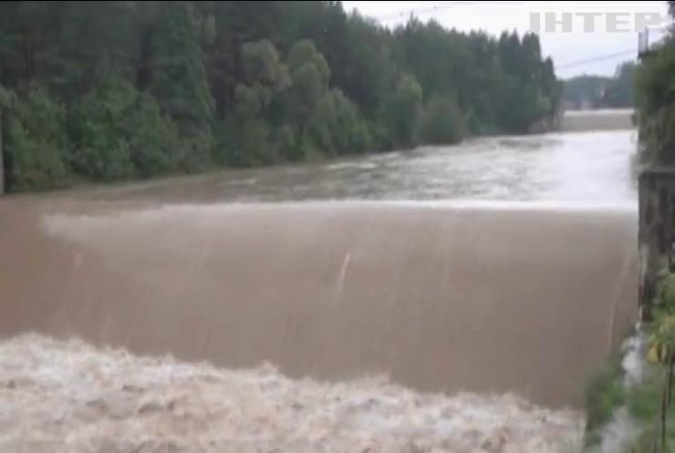 В Україні зливи підвищать рівень води у річках