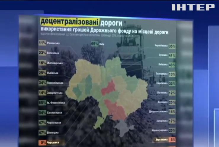 Ненужные миллионы: почему в Черкасской области задерживают ремонт дорог