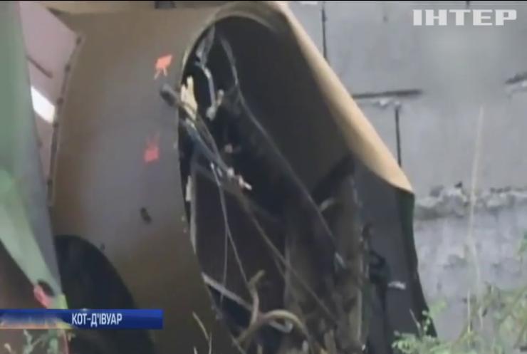 У Кот-д'Івуарі розбився гелікоптер