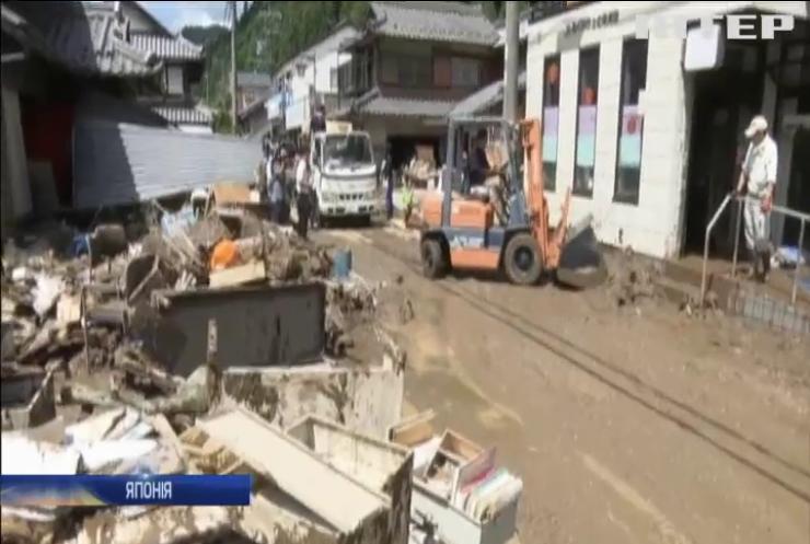 Внаслідок повеней в Японії загинуло майже 200 чоловік