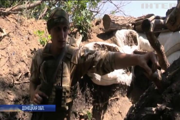 Война на Донбассе: линию обороны удерживает морская пехота