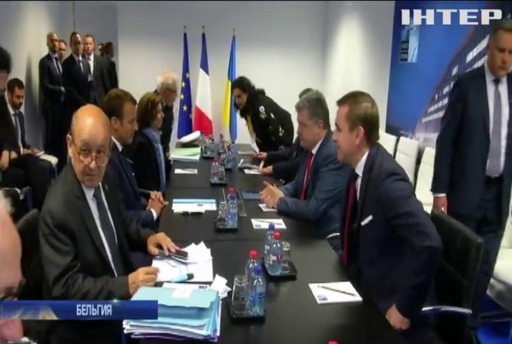 Порошенко: на саммите НАТО подтвердили перспективу вступления Украины в Альянс