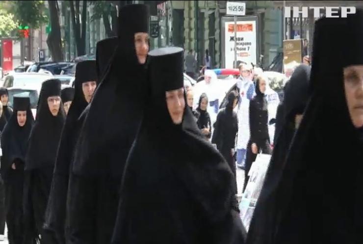 """В Одессе верующие прошли крестным ходом с чудотворной """"Касперовской"""" иконой Божей Матери"""