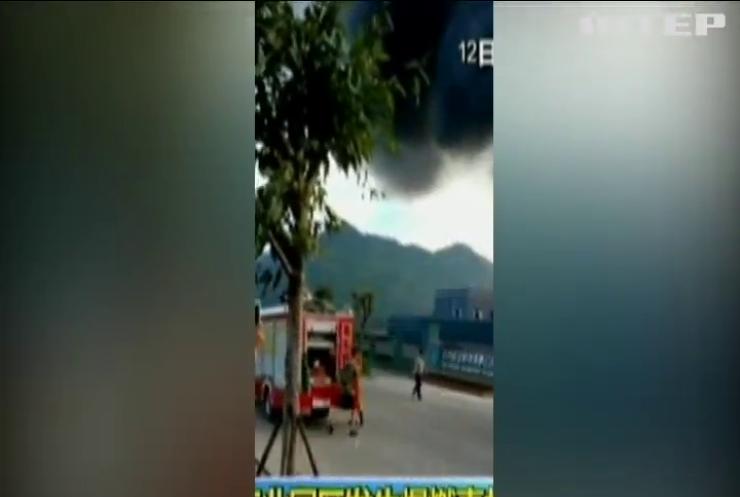 Вибух на хімічному заводі у Китаї забрав життя 19 людей
