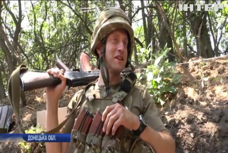 Війна на Донбасі: лінію оборони утримує морська піхота