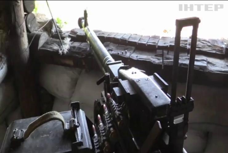 На Донбасі поранено трьох українських бійців