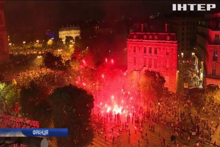 Перемога Франції спровокувала масові заворушення
