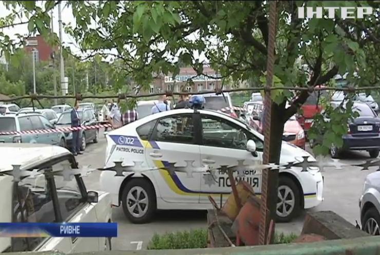 Убийство в Ривне: в городе объявлен план перехват