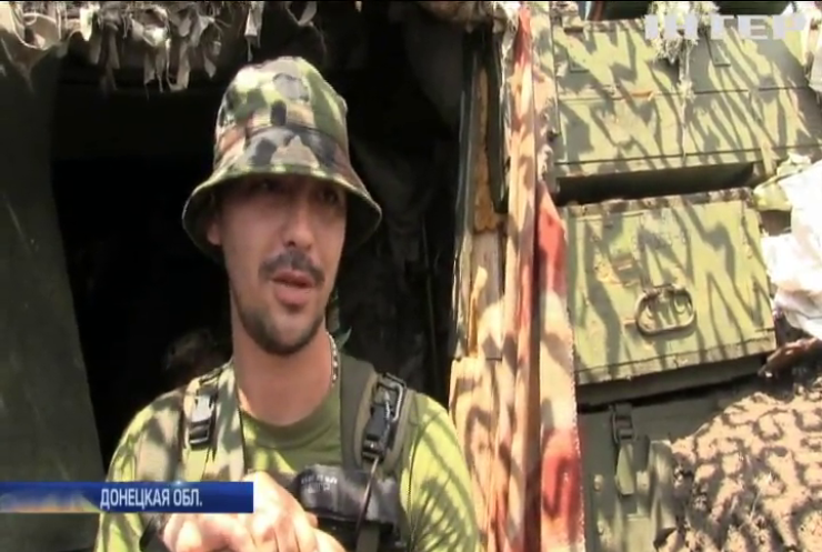 Боевики ведут огонь в районе донецкого аэропорта