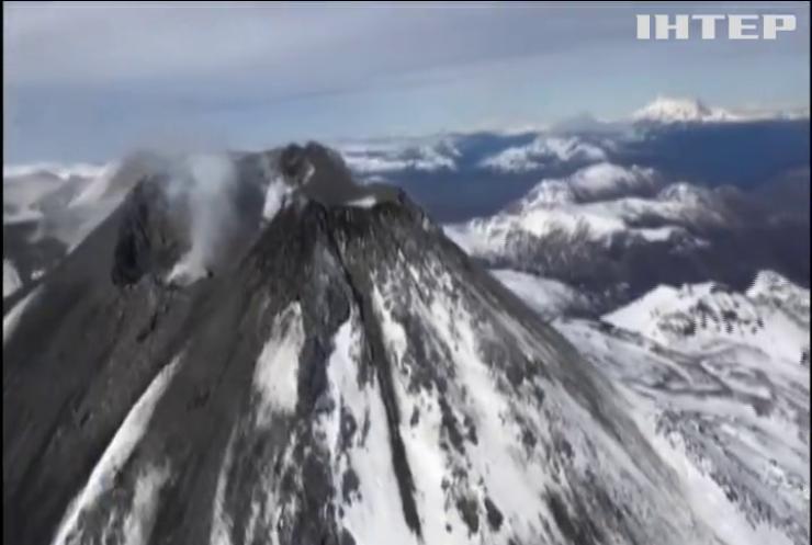 У чилійських Андах зафіксовано виверження вулкану