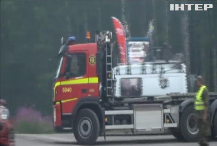 У Швеції зафіксували рекордну кількість пожеж