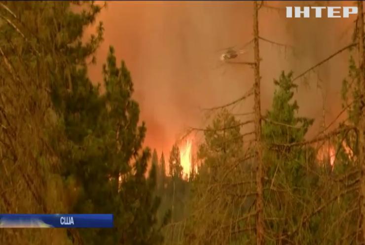 У Каліфорнії не вщухають лісові пожежі