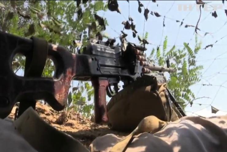 На сході країни зафіксовано зменшення ворожих обстрілів