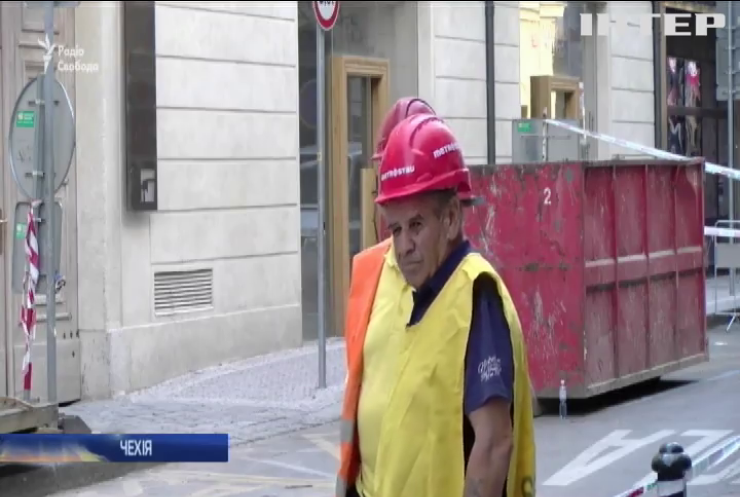 У Празі будинок обвалився на українських заробітчан