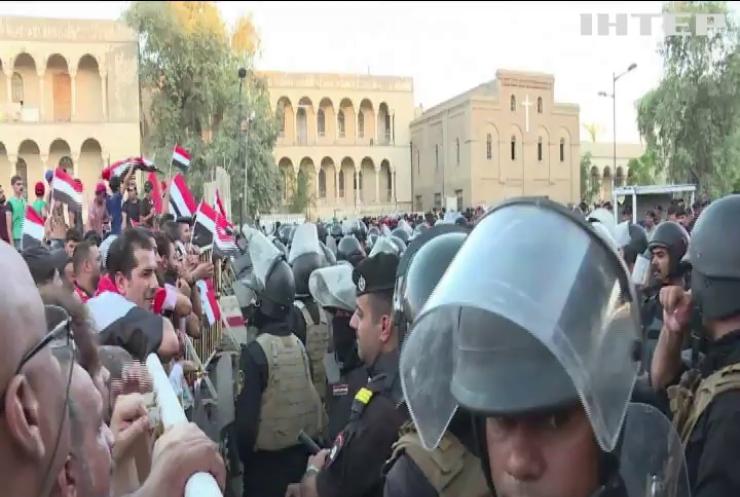 Беспорядки в Ираке: демонстранты пытались прорваться в правительственный квартал