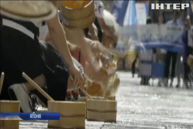 Токіо рятується від аномальної спеки (відео)