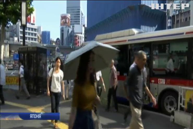 У Токіо госпіталізували тисячу людей через спекотну погоду