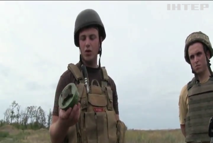 На Донбассе обезвредили 50 вражеских мин