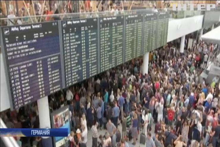 В аэропорту Мюнхена отменили сотни авиарейсов