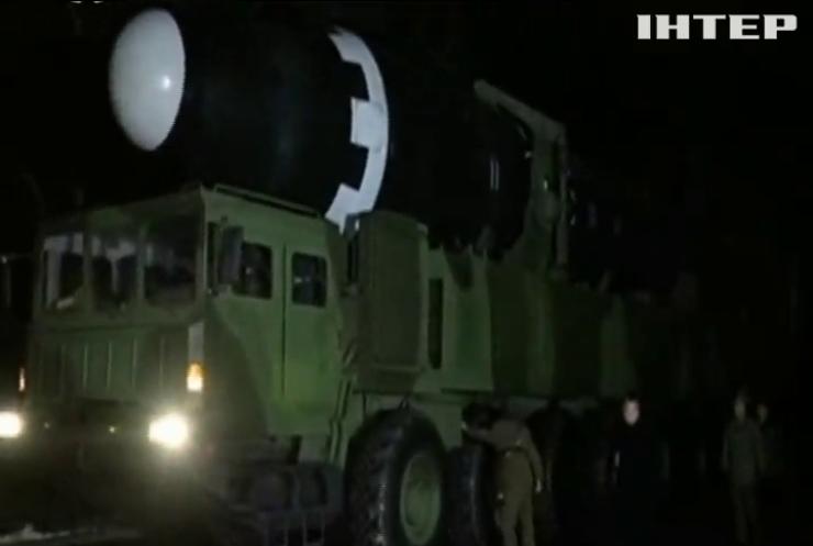 Північна Корея продовжує розробляти балістичні ракети