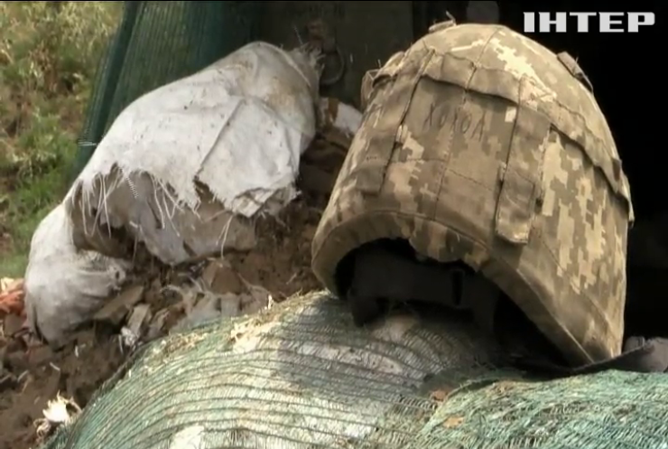 На Донбасі поранило українського військового